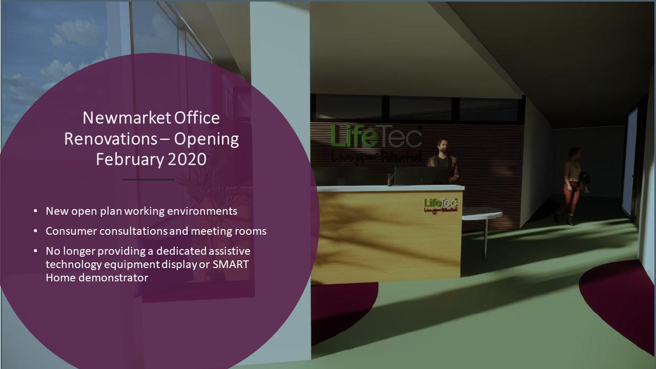 LifeTec Newmarket office renovations concept image