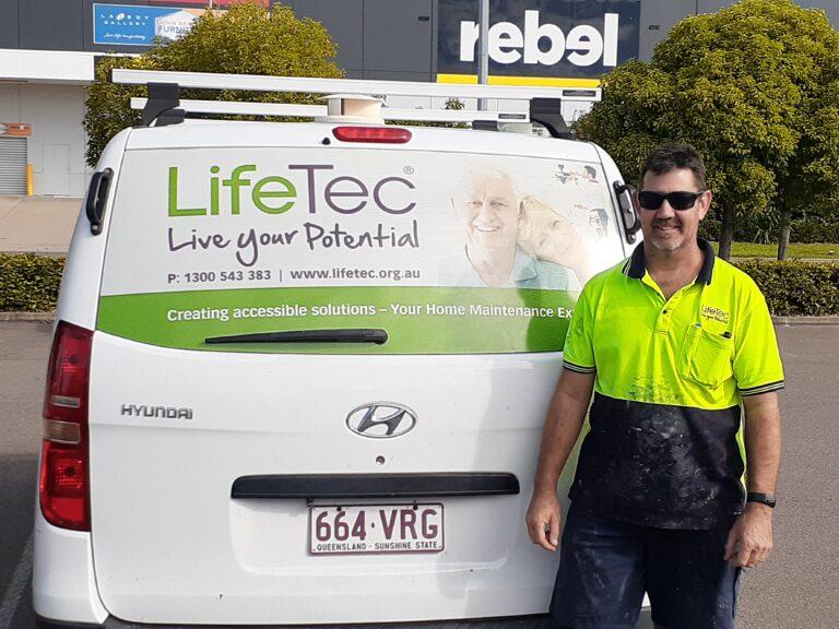 Chris LifeTec home maintenance officer