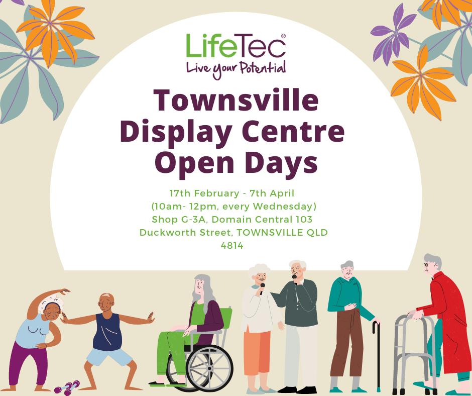 Townsville Display Centre Open Days poster