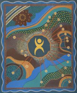 LifeTec Indigenous Art Poster